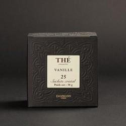 Thé Dammann (25 sachets) - Vanille