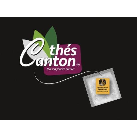 Thés CANTON  20 sachets fraicheurs