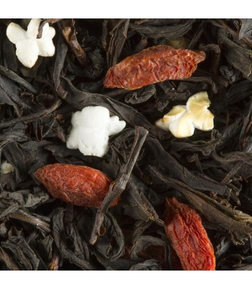 Thé noir GRANOLA D'HIVER en vrac (sachet de 100 grammes)