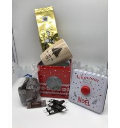Colis cadeau boite Noël