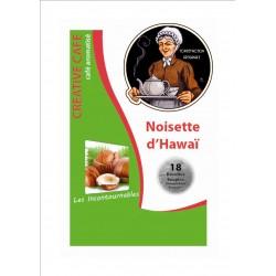 """Dosettes café aromatisé à la noisette type """"Senséo"""" par 18"""