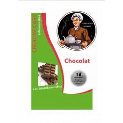"""Dosettes café aromatisé au chocolat type """"Senséo"""" par 18"""
