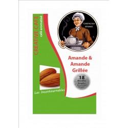 """Dosettes café aromatisé aux amandes grillées type """"Senséo"""" par 18"""