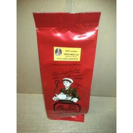 café aromatisé mirabelle