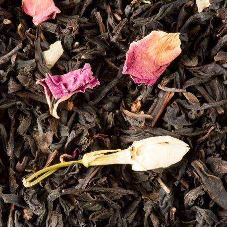 Thé noir Mirabelle en vrac (sachet de 100 grammes)