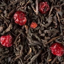 Thé noir Myrtille en vrac (sachet de 100 grammes)