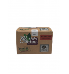 Rooibos vert mirabelle 25 infusettes Thés CANTON