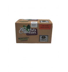 Thé noir Bergamote 25 infusettes Thés CANTON