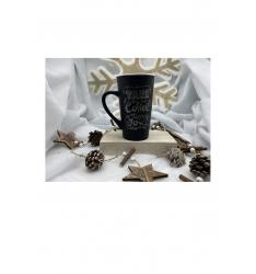 Mug hot drink 50 cl - coffee noir