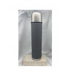 Bouteille isolante grise 1 litre