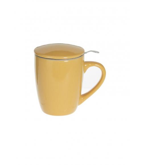 Tisanière jaune 32cl