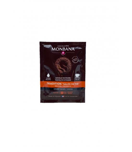 """Sachet de chocolat en poudre 20 grs TRADITION """"salon de thé"""""""