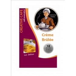 """Dosettes café aromatisé à la crème brulée type """"Senséo"""" par 18"""